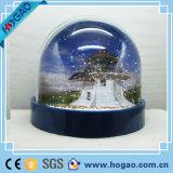 装飾のためのプラスチック額縁水雪の地球