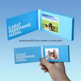 Поздравительная открытка визитной карточки опционной брошюры размера экрана видео- видео- видео- для промотирования рекламируя (ID2401)