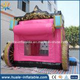 スポーツのゲームのためのスライドを持つToy Inflatable Jumper Bouncer王女