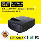 Proyector nativo de los lúmenes 800X600 1500 mini LED LCD HD del mejor holograma de la venta