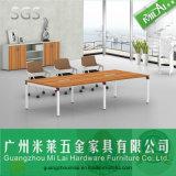 مستقيمة تصميم جهاز طاولة ساق مكتب [ميتينغ تبل] مع خزانة متحرّك