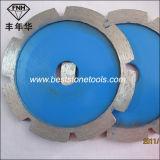 Tk-1 Groef 115mm van de Steen van het Blad van het Punt van de Plooi van de diamant Scherpe