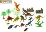 リアルで多彩で小さいプラスチックおもちゃの恐竜