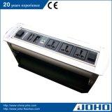 ألومنيوم نوع دوّارة كهربائيّة مكتب مقبس تجويف نقف فوق سطح طاولة مقبس تجويف