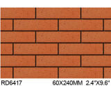 Argila Split Tile para Exterior Wall Brick 60*240mm Rd6417
