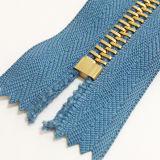 #8 Gold Teeth Metal Zippers für Garment