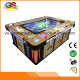 De hoge Gokautomaat van het Casino van de Spelen van de Jager van de Vissen van de Machine van de Arcade van de Vissen van de Draak van de Staking van de Tijger van de Winst Rode