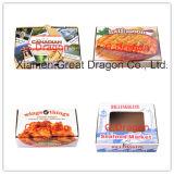 Strato triplice di il contenitore durevole di pizza del Kraft di carta (PZ-059)