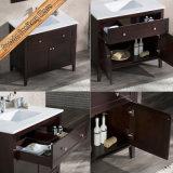 Fed-1960 mobilia moderna superiore della stanza da bagno del quarzo elegante di legno solido da 36 pollici