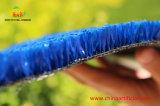 Relvado artificial high-density fibrilado de Fibe para a corte de tênis