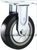 4 Inch Superhochleistungs-PU-Schwenker-industrielle Fußrolle, Laufkatze-Fußrolle