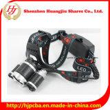 Фара Headlamp 5000lm наивысшей мощности 30watt 3*CREE Xml-T6 СИД