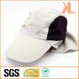 ポリエステルTaslon/折り返しが付いている網の働く帽子、魚の帽子