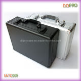 Резцовая коробка случая серебряного Striped ABS трудная (SATC009)