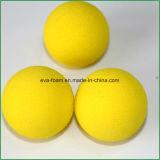 Pratica dell'interno di EVA della gomma piuma di golf della spugna gialla delle sfere