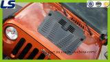 Grelha de aço da capa de Spyder do veneno Pó-Revestido para o Wrangler Jk do jipe