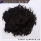 Il commercio all'ingrosso personalizza il Toupee indiano/Hairpiece dei capelli umani di modo per gli uomini