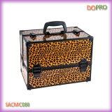 Exemplo do organizador da composição do curso da etiqueta confidencial do leopardo com cinta de ombro (SACMC088)