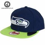 O basebol gordo da alta qualidade do bordado do sopro 3D ostenta o tampão do Snapback do chapéu