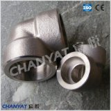Codo apropiado de la soldadura del socket del acero inoxidable (1.4462, X2CrNiMoN22-5-3)