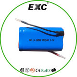 Long Life Li-ion batterie AA 14500 3.7V 1500mAh