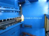 Macchina piegatubi idraulica della zolla d'acciaio Wc67y-300X4000