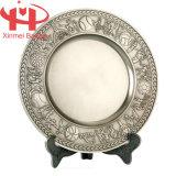 Metallo Souvenir Plate Used per Memorizing
