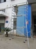 Échafaudage sûr de tour qualifié par GV de la CE pour la construction
