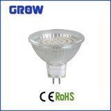 5W GU10 heißer Scheinwerfer des Verkaufs-Glas-SMD LED