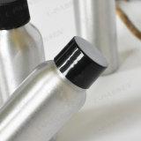 Bottiglia di alluminio del E-Liquido del coperchio a vite nero per l'imballaggio dell'estetica (PPC-ACB-042)