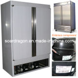 S/S Commercial Kitchen Storage Freezer mit Auto Defrost