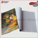 Cadernos dos estudantes da tampa macia