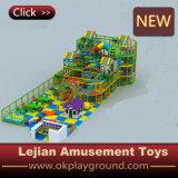 Cour de jeu d'intérieur d'enfants de plastique d'usine de la Chine (T1503-6)