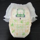 Shengjie OEMの使い捨て可能な赤ん坊のおむつのズボンの製造