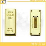 De nieuwste Stok van het Metaal USB van de Luxe van het Ontwerp 8GB Bulk Gouden