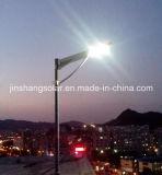 El mejor precio para la luz de calle solar integrada de 50W LED con el panel solar de la batería (JINSHANG SOLARES)