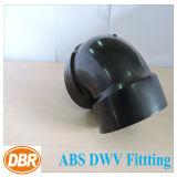 ABS Dwv de taille de 2 pouces ajustant 1/4 courbure courte