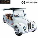 Carro clássico elétrico de Seater do branco 8