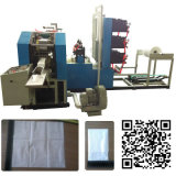 Zwei Color Printing Dispenser Napkin Paper Embossing und Folding Machine