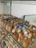 Bottiglia di plastica dell'animale domestico cosmetico da Yuyao, Cina (reticolo di legno)