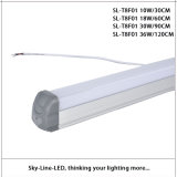 L'alluminio ed il PC hanno coperto 25 il tubo chiaro imballato di 3feet 30W 3000/4000/6500k T8 LED