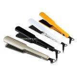 Straightener profissional longo extra do cabelo, indicador de diodo emissor de luz