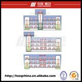 Garage stéréo commercial, système automatisé de stationnement de voiture et ascenseur de Paking