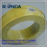 Fio elétrico do PVC dos núcleos de Sqmm três do amarelo 2.5