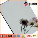1220 milímetros de la anchura de la plata del techo de aluminio Acm de la decoración