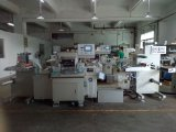 Automatisches Roll Adhesive Label Hot Foil Stamping Machine und Die Cutting Machinem