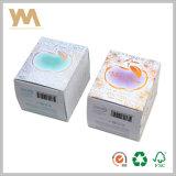 O costume perfuma caixas de cartão do papel do pacote dos cosméticos