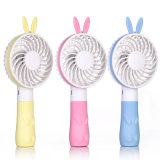 Princess Rabbit Cartoon Portable Handy Rechargeable USB Mini Fan