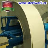 Цвет высокого качества (PPGI/PPGL/GI/GL) покрыл стальную катушку (бежевую) (CC-07)