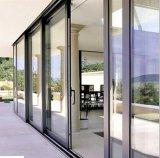 Porte thermique de tissu pour rideaux de profil d'alliage d'aluminium d'interruption de bonne qualité